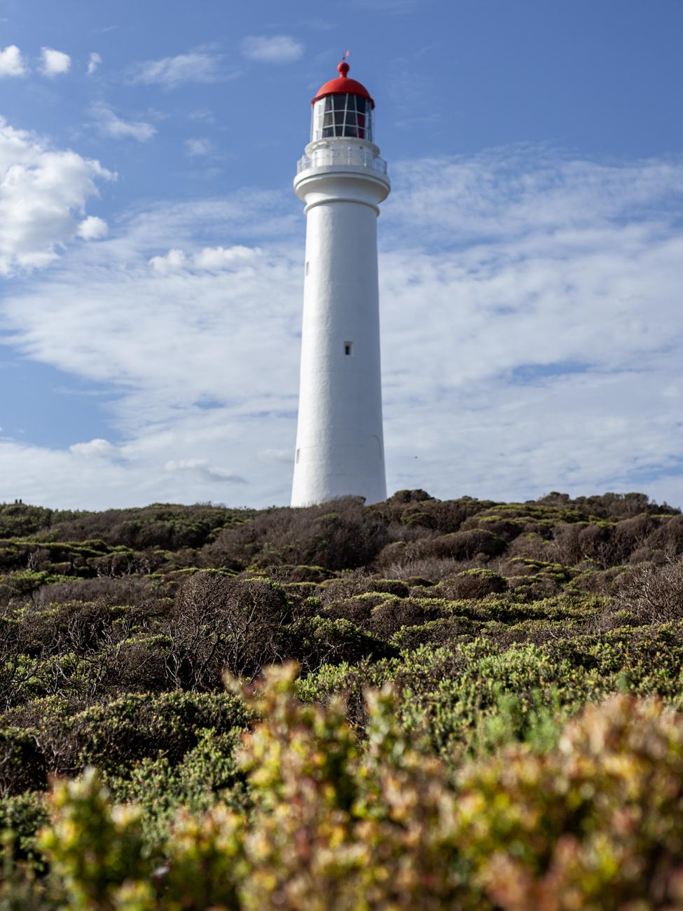 Split Point Lighthouse along the Great Ocean Road