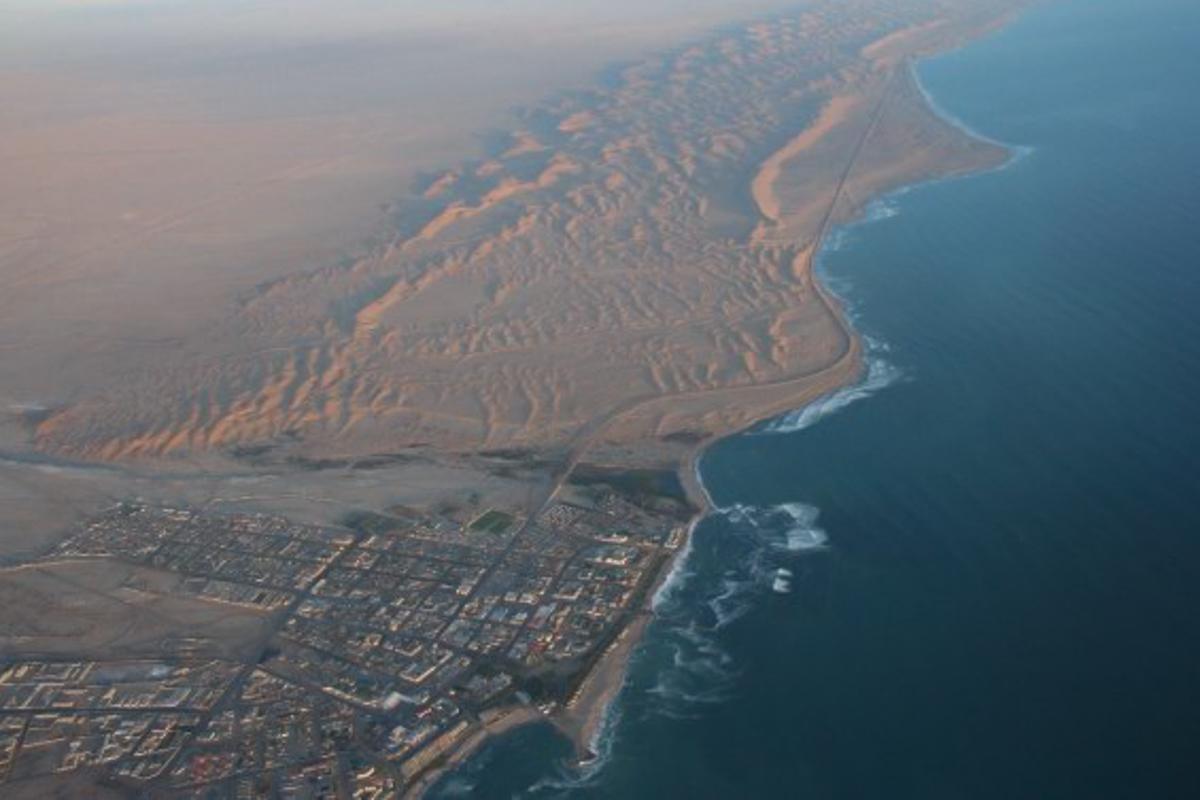 Highlights of Namibia - Swakopmund Skydiving
