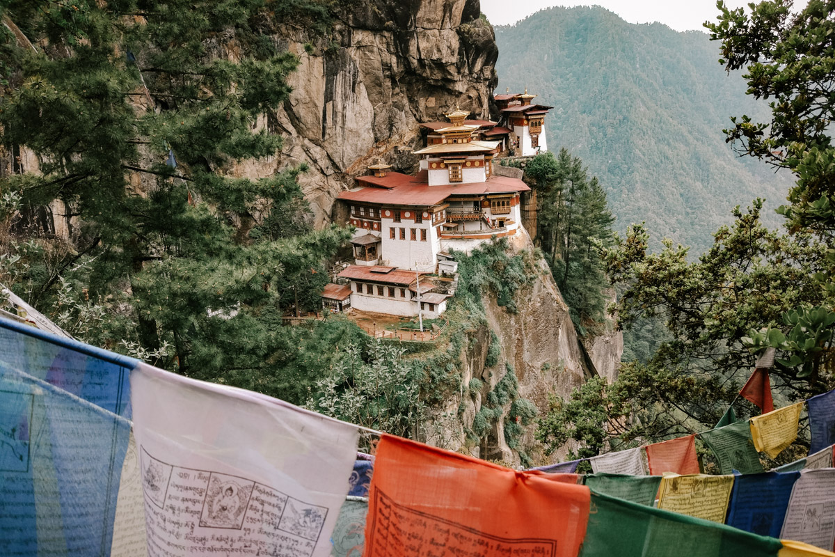 Tigers nest temple Bhutan