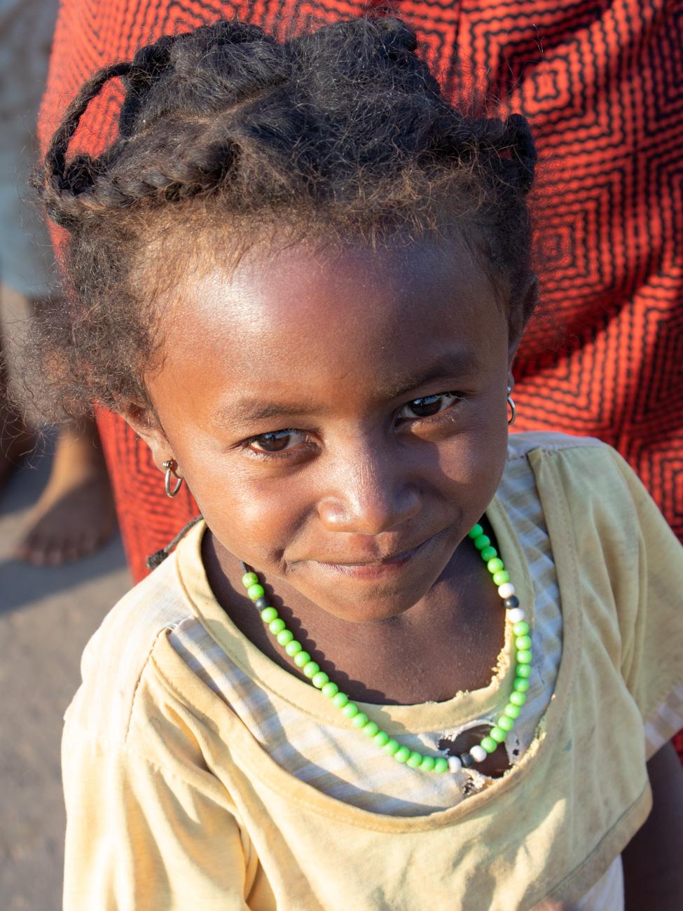 Little Girl, Madagascan Village