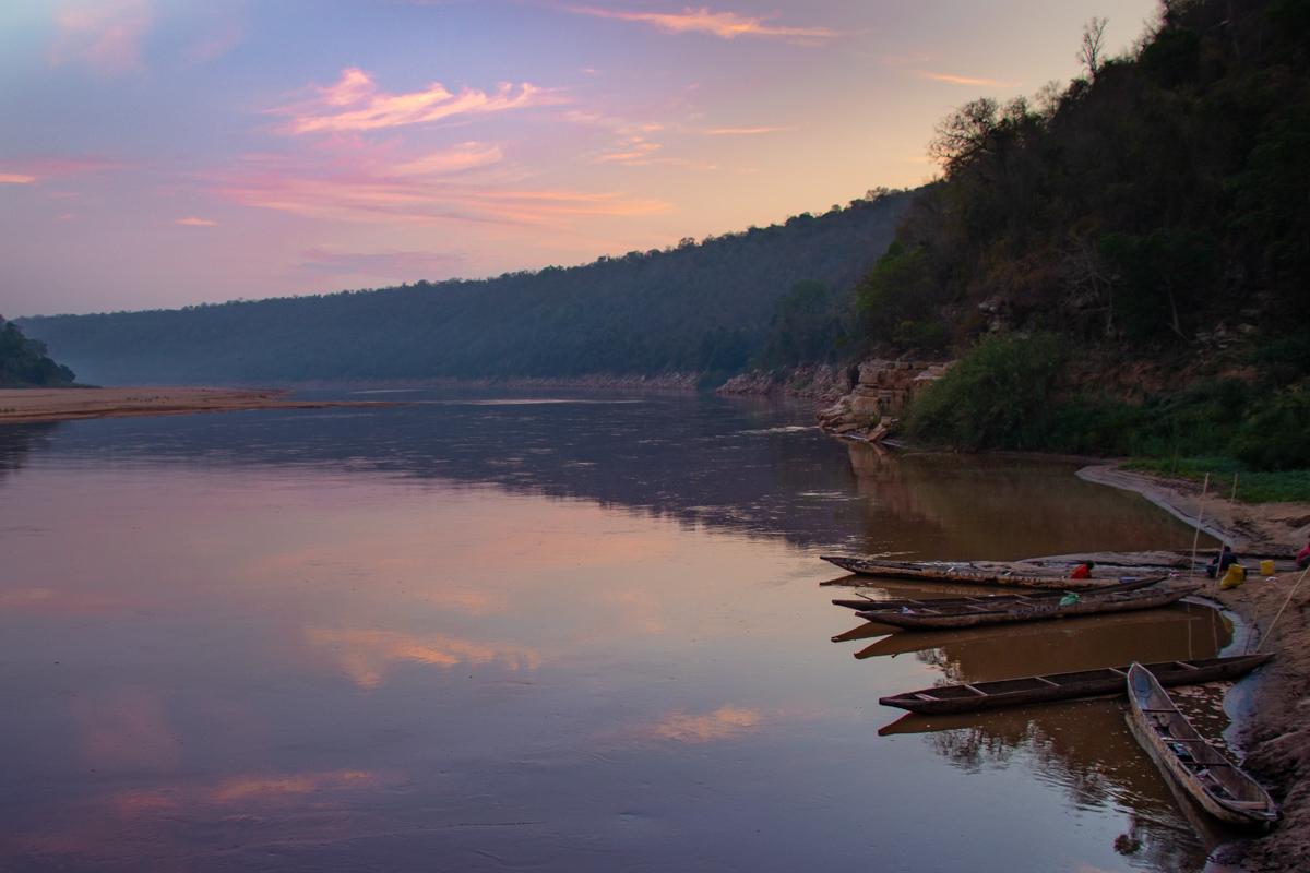 Tsiribihina Campsite sunset