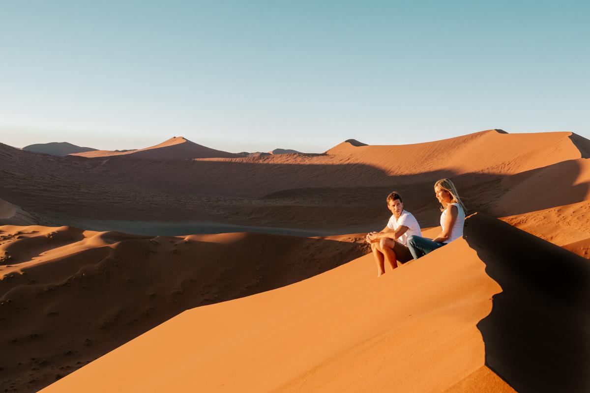 Highlights of Namibia - Dune 45 sunrise Namibia