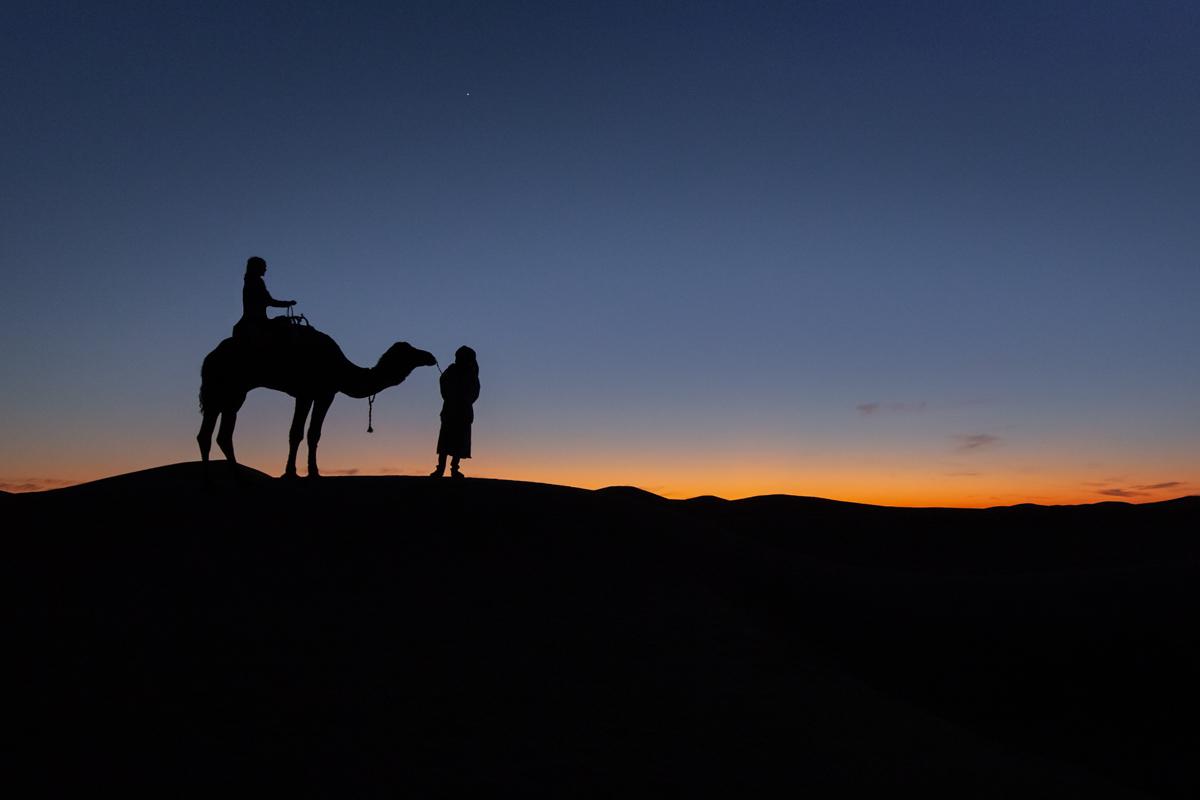 Erg Chigaga dunes, Morocco