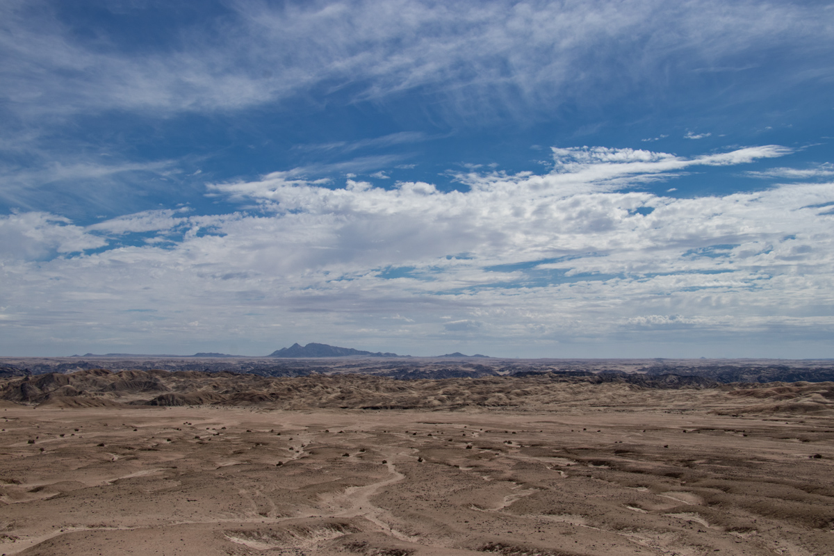 Highlights of Namibia - Moon Landscape