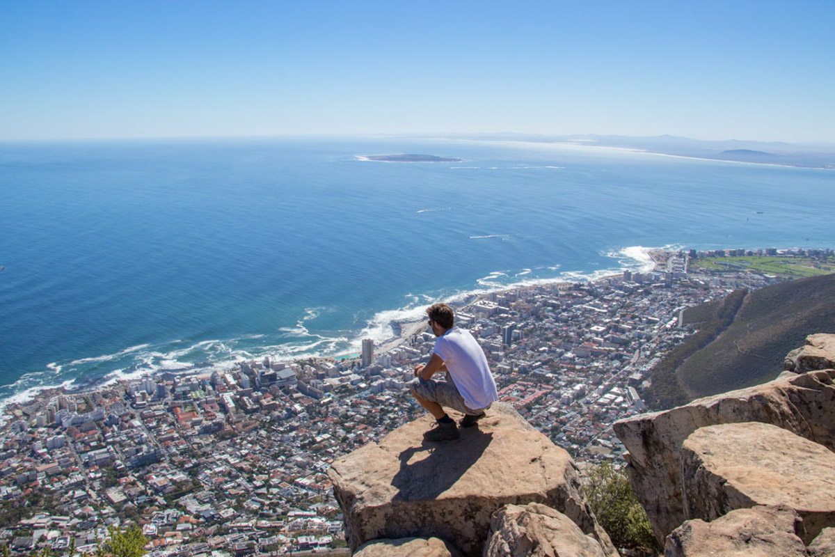 Cape Town views from Lions Head