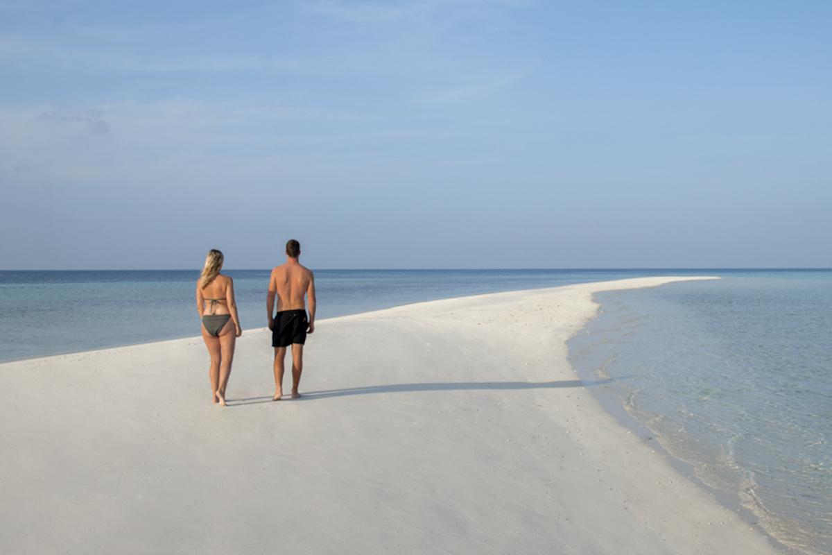 Ambara Island - Sailing the Maldives