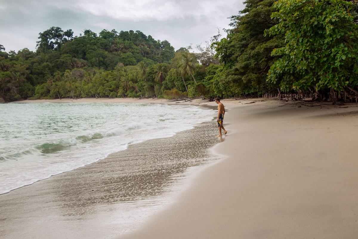 Manuel Antonio beach - Manuel Antonio National Park
