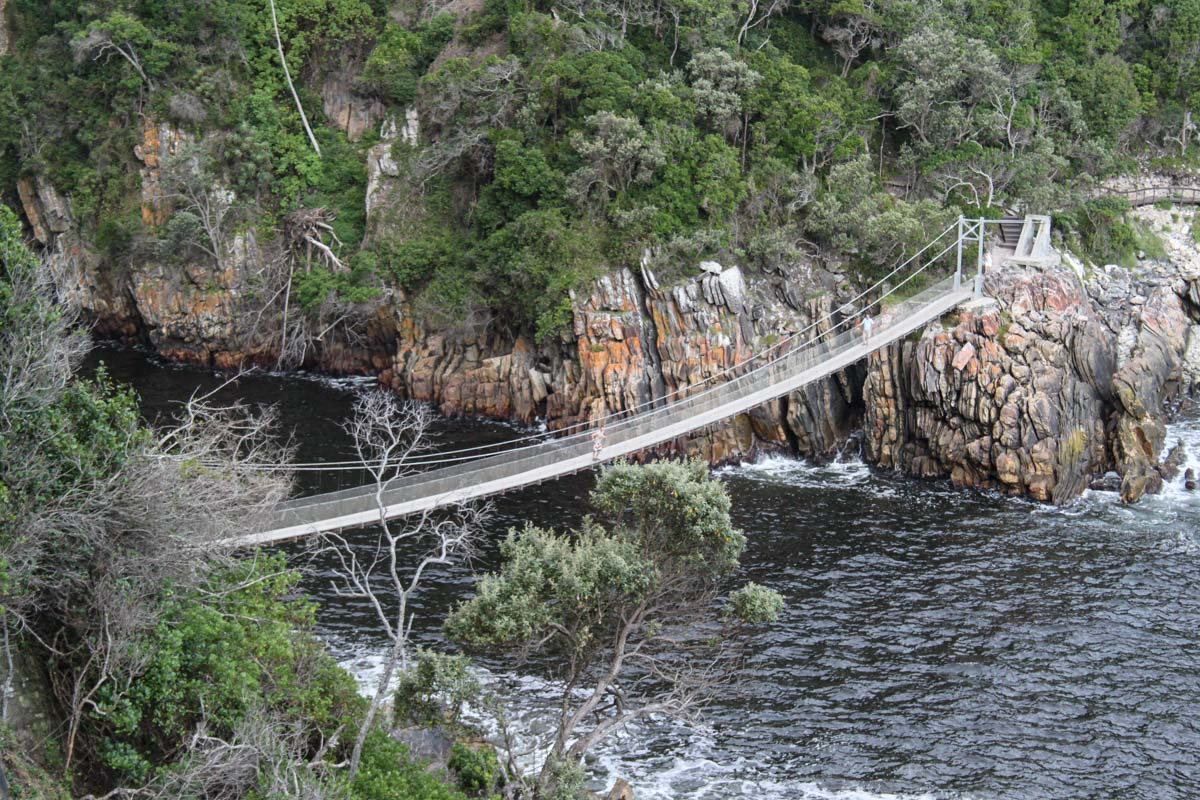 Storms River Suspension Bridge - The Garden Route. Things to do in South Africa
