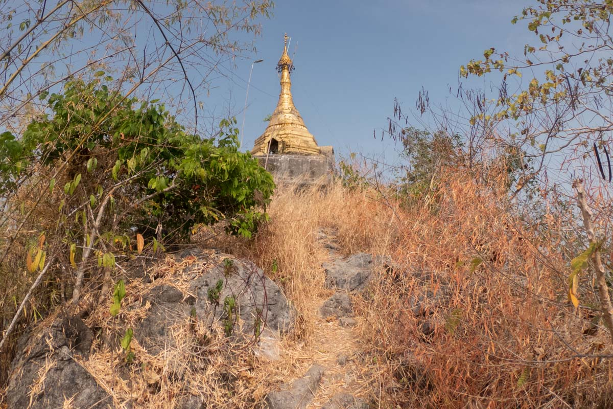 Pha Bhu Taung Pagoda, Mt Hpan Pu