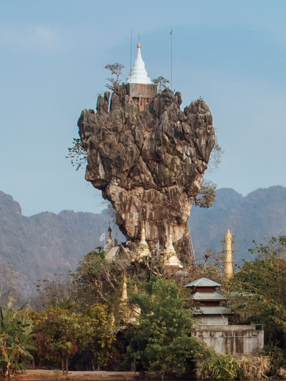 Kyauk Ka Lat Pagoda, Hpa An Myanmar
