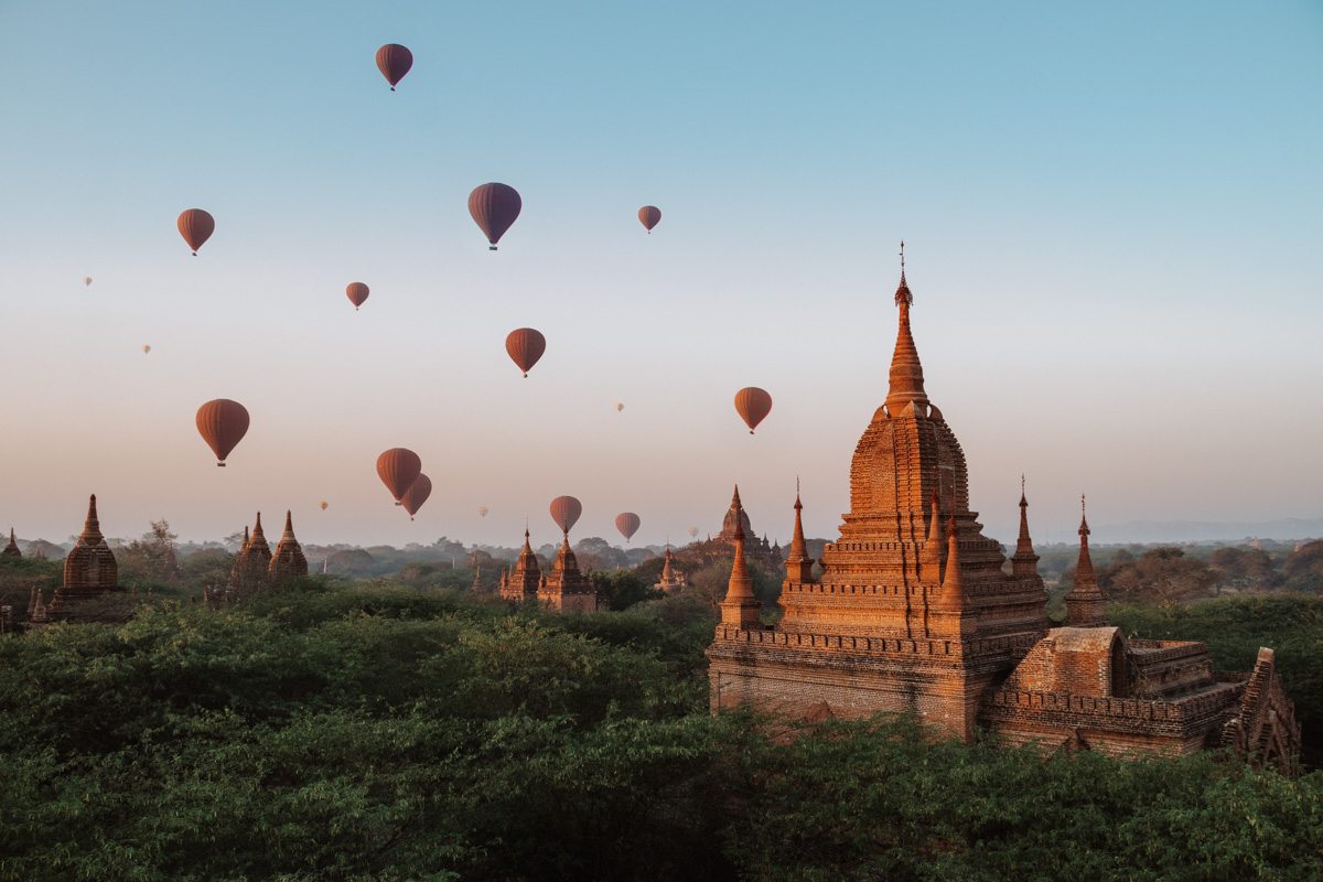 Bagan sunrise viewpoint