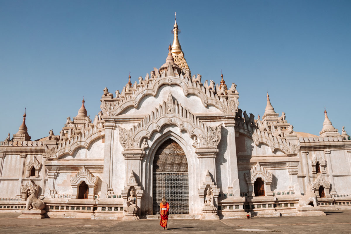 Ananda - The best temples in Bagan