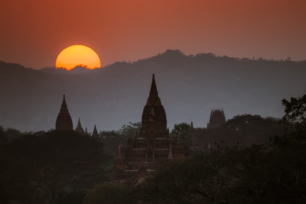 Bagan sunset viewpoint