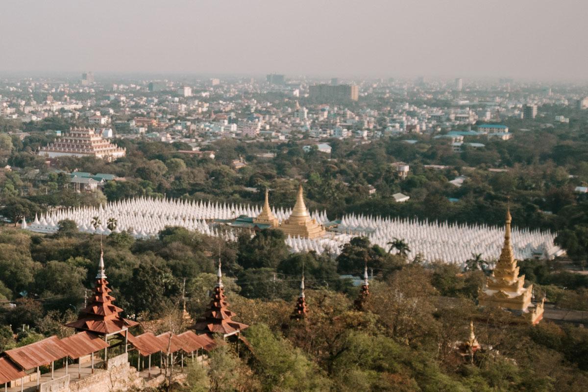 Sandar Mu Ni Pagoda Mandalay