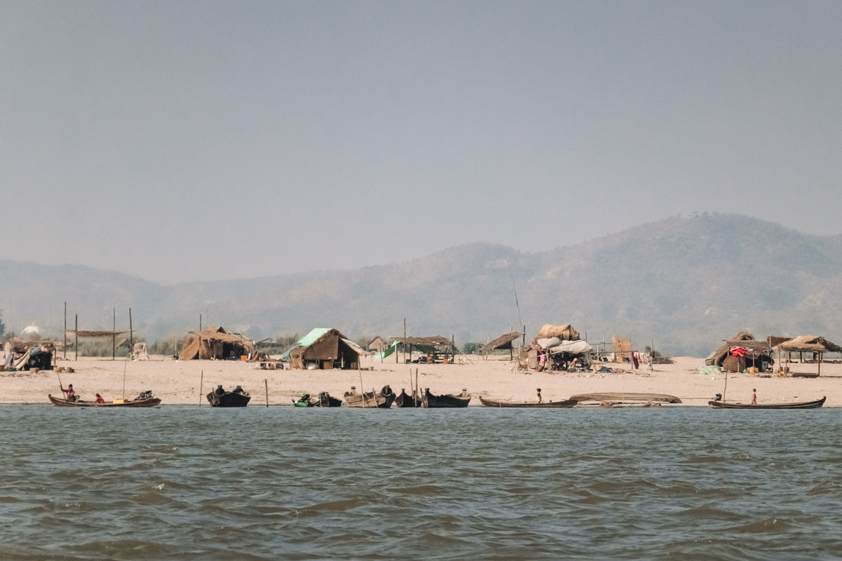 Irrawaddy River Mandalay