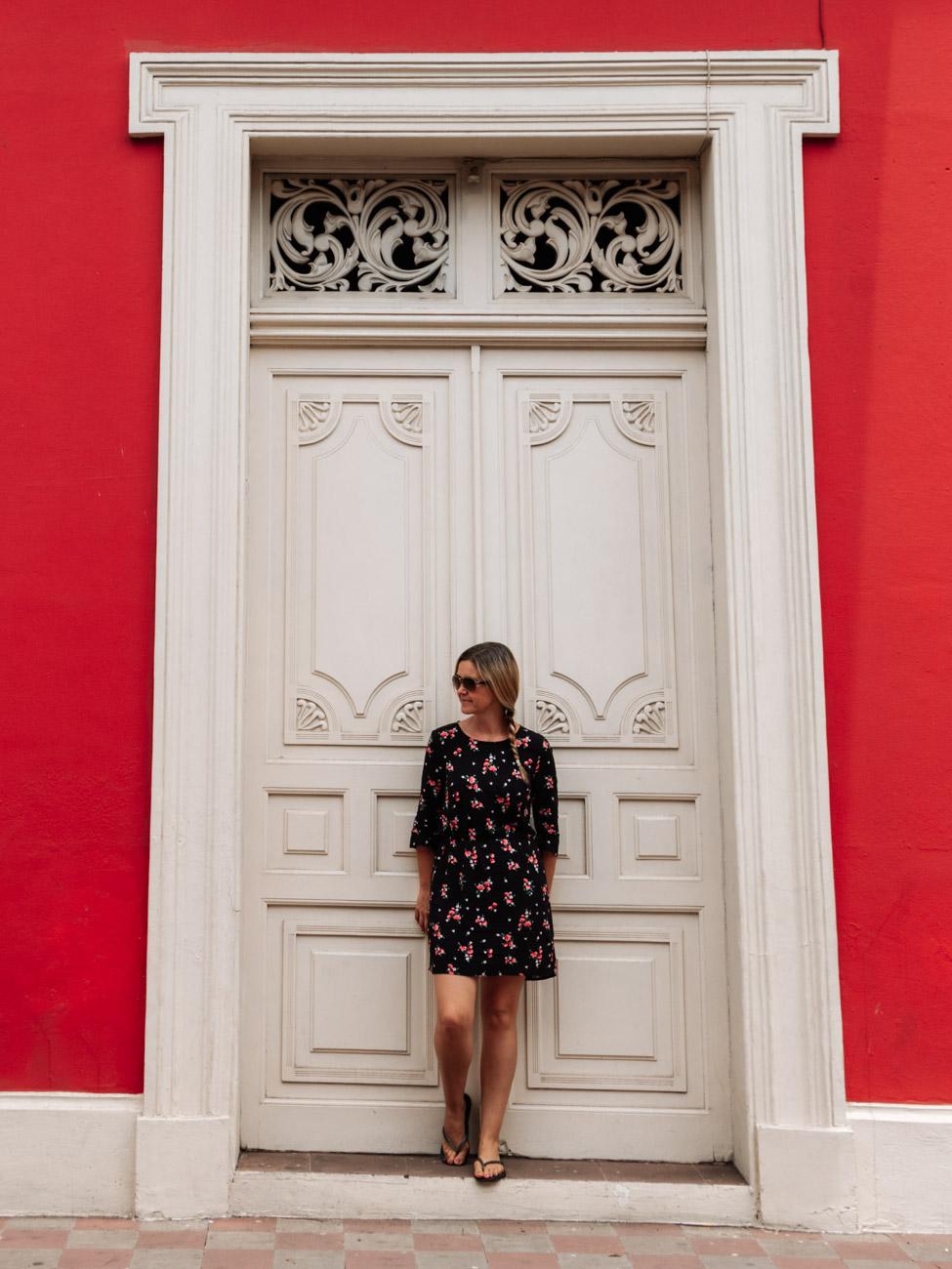 Colourful Granada street - Nicaragua