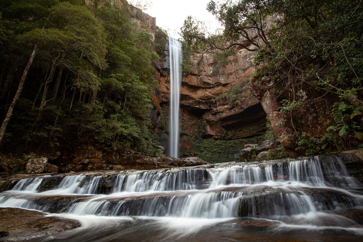 Waterfalls of Morton National Park - Belmore Falls