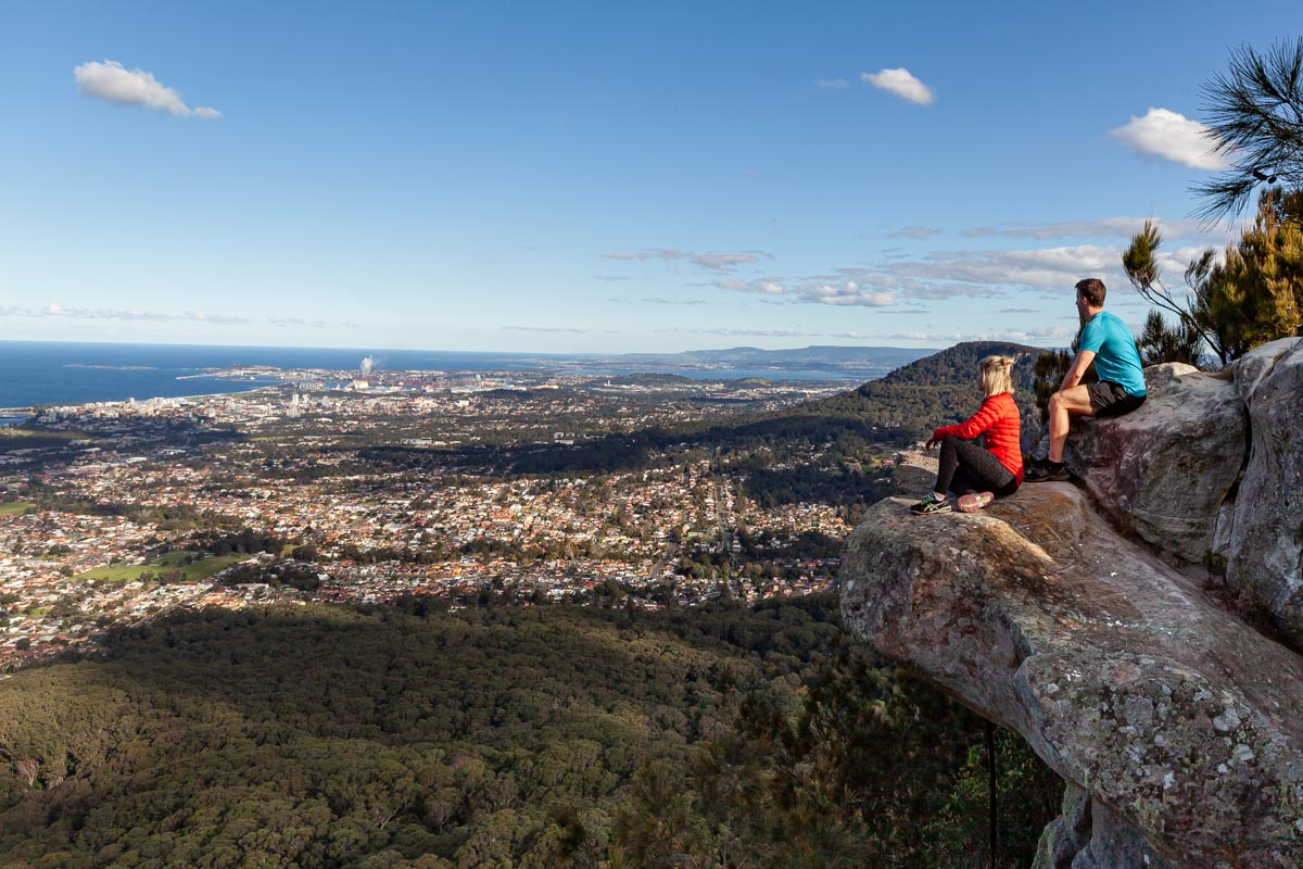 Brokers Nose - Viewpoints of Wollongong