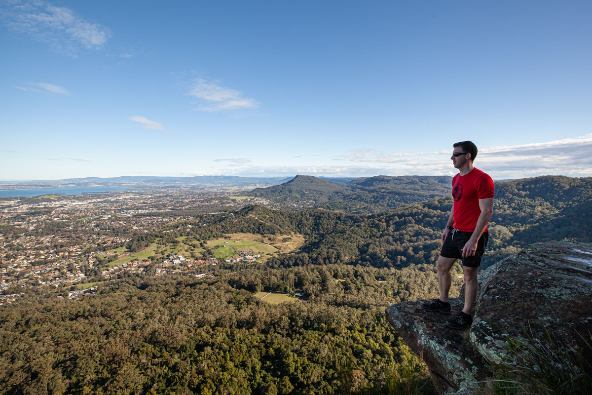 Mount Keira Lookout Wollongong