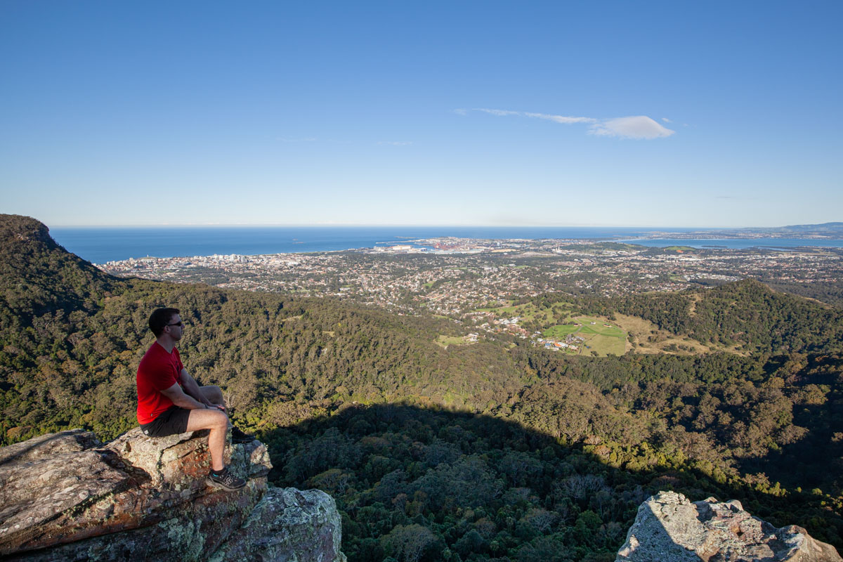Robertson Lookout (Robertson's Knoll) - Best viewpoints in Wollongong Australia