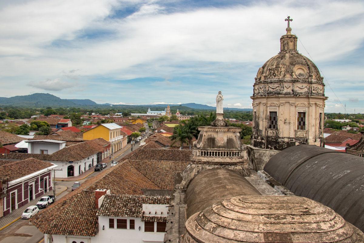 Iglesia de La Merced Bell Tower - Granada, Nicaragua