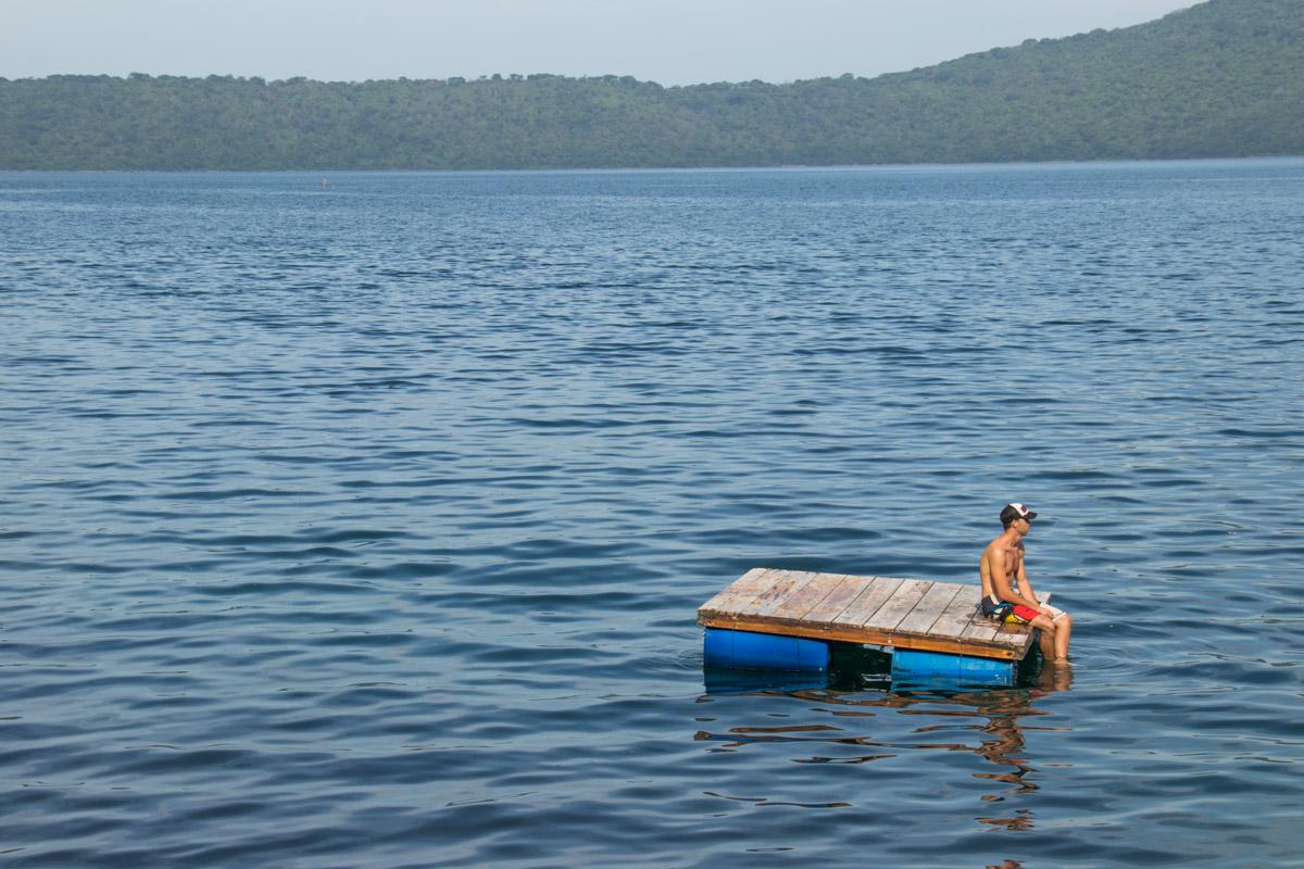 Laguna de Apoyo swimming platform
