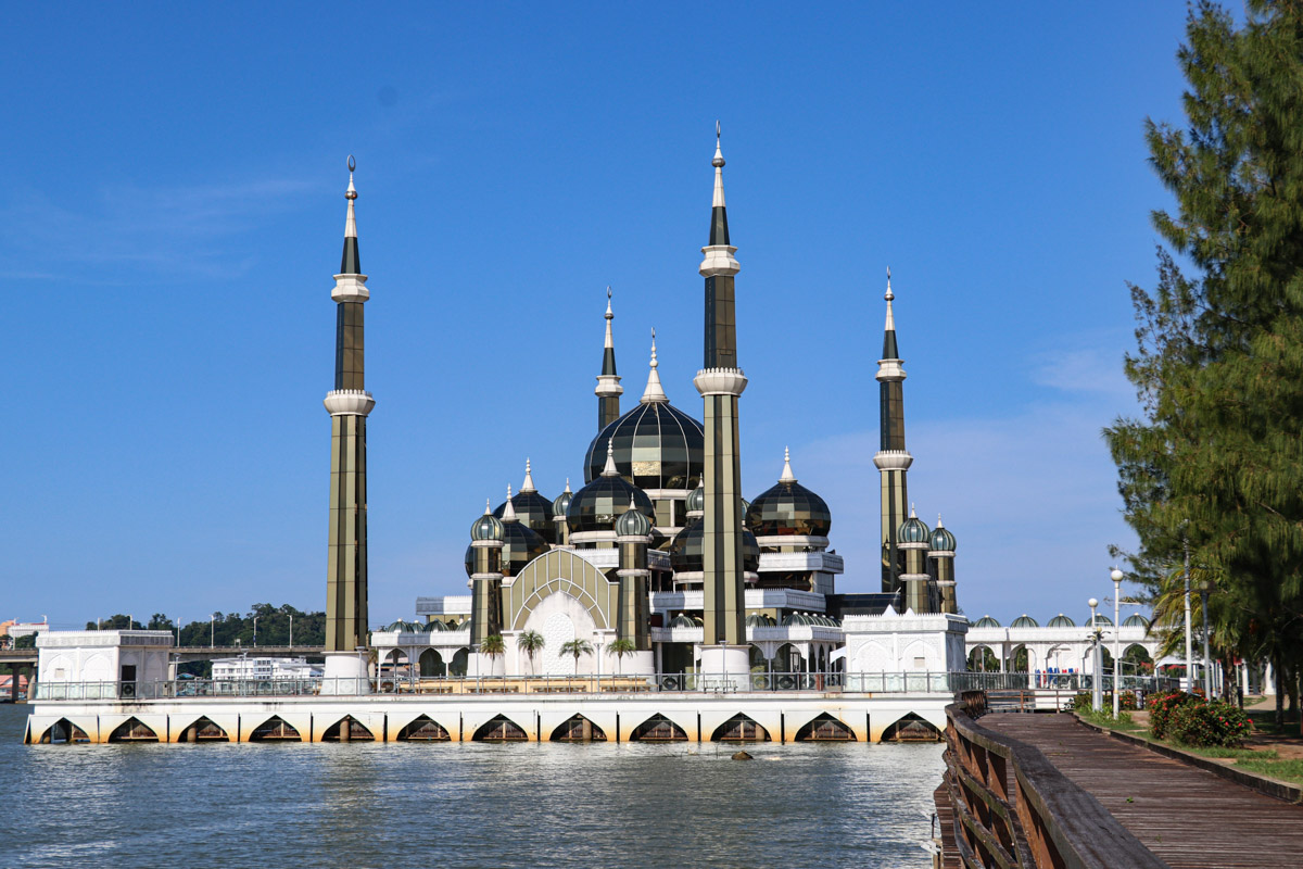 Crystal Mosque (Masjid Kristal) - Kuala Terengganu