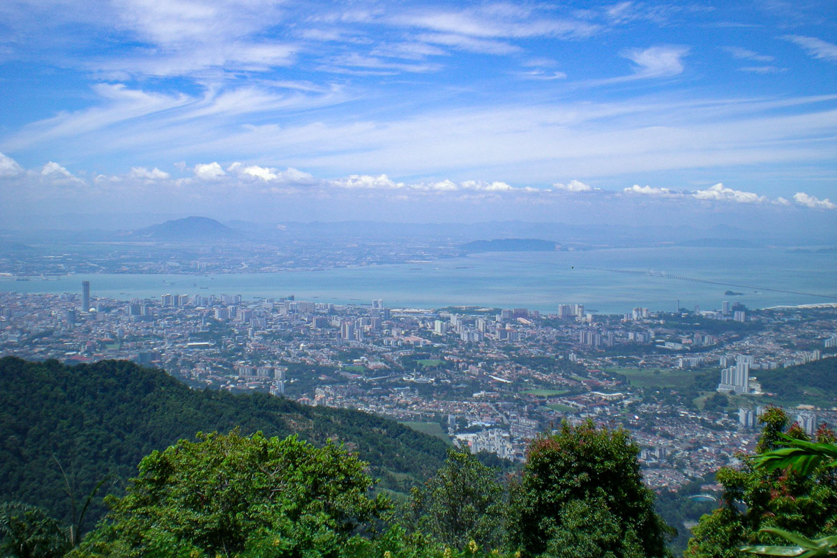 View from Penang Hill - Things to see and do in Penang