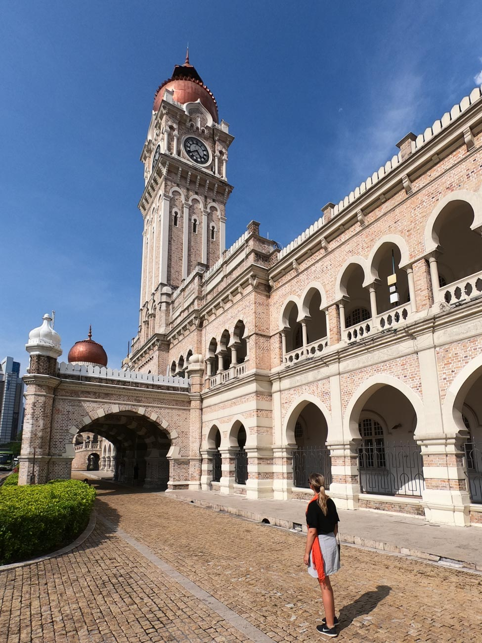 The Sultan Abdul Samad building - things to do in Kuala Lumpur