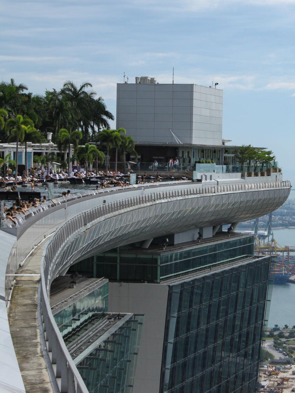 Marina Bay Sands Hotel Pool- Singapore City Guide