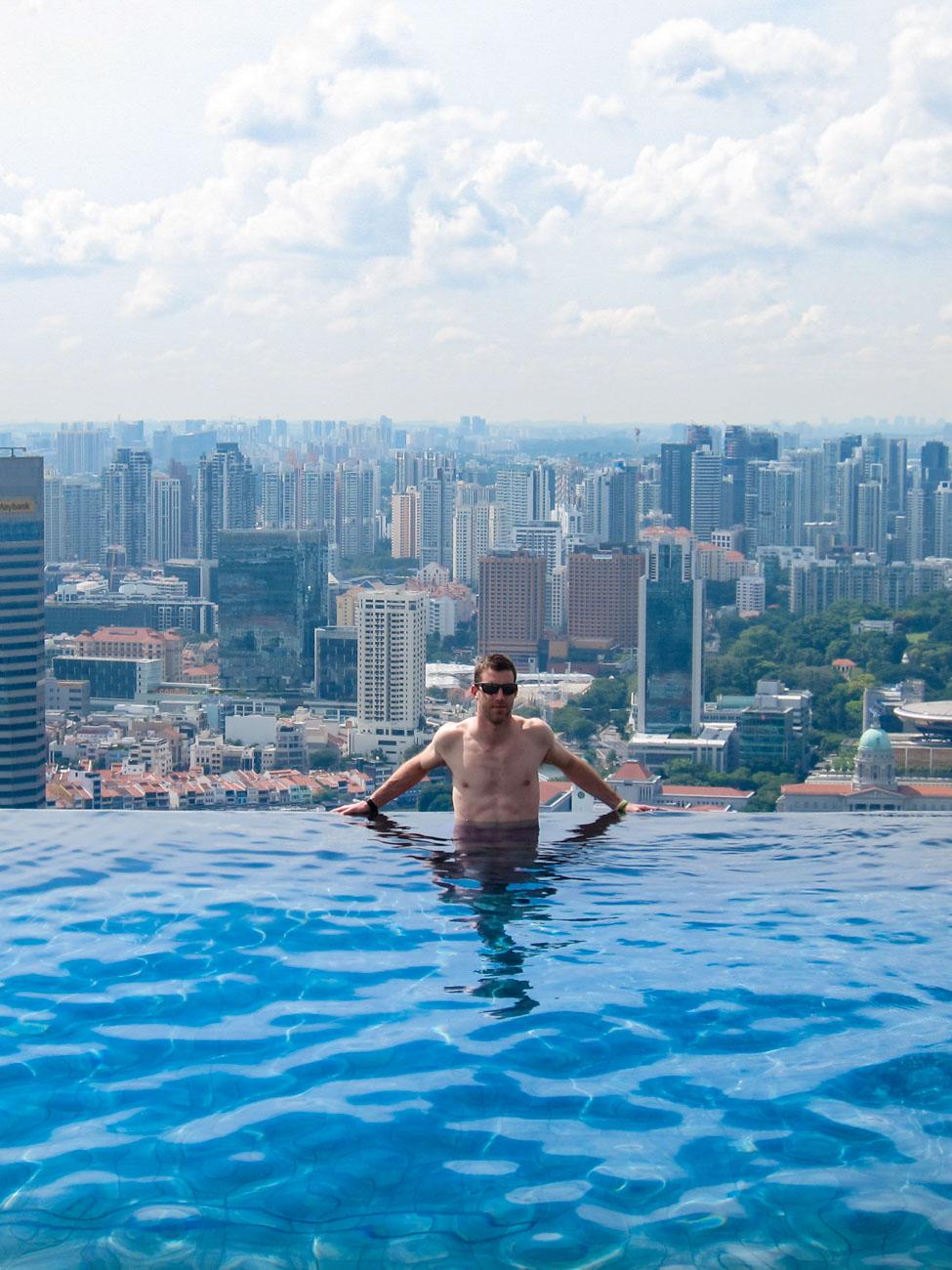 Marina Bay Sands Infinity Pool - Singapore