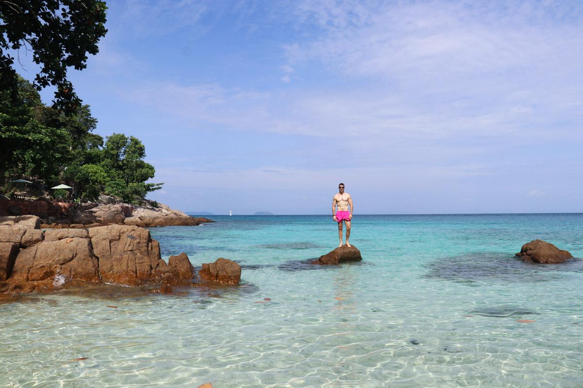 Perhentian Islands - Golden Sand Beach (Golden Bay), Kecil