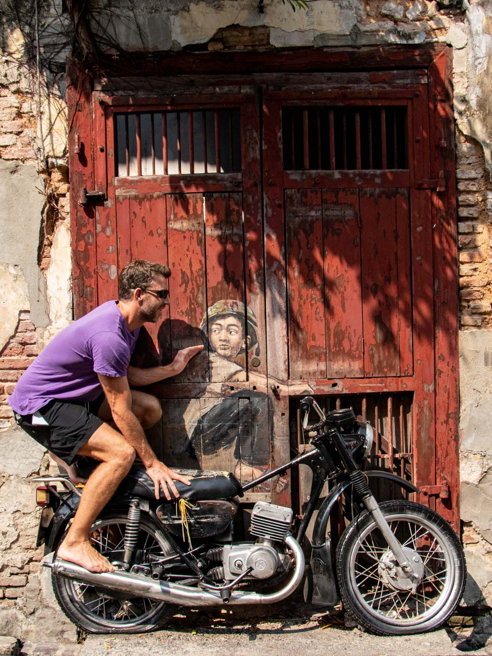 'Boy on Motorcycle' - Things to see and do in Penang