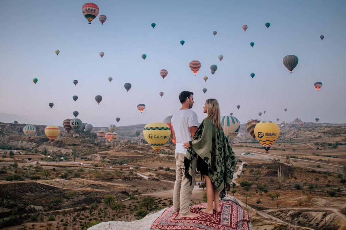 Cappadocia's hot air balloons
