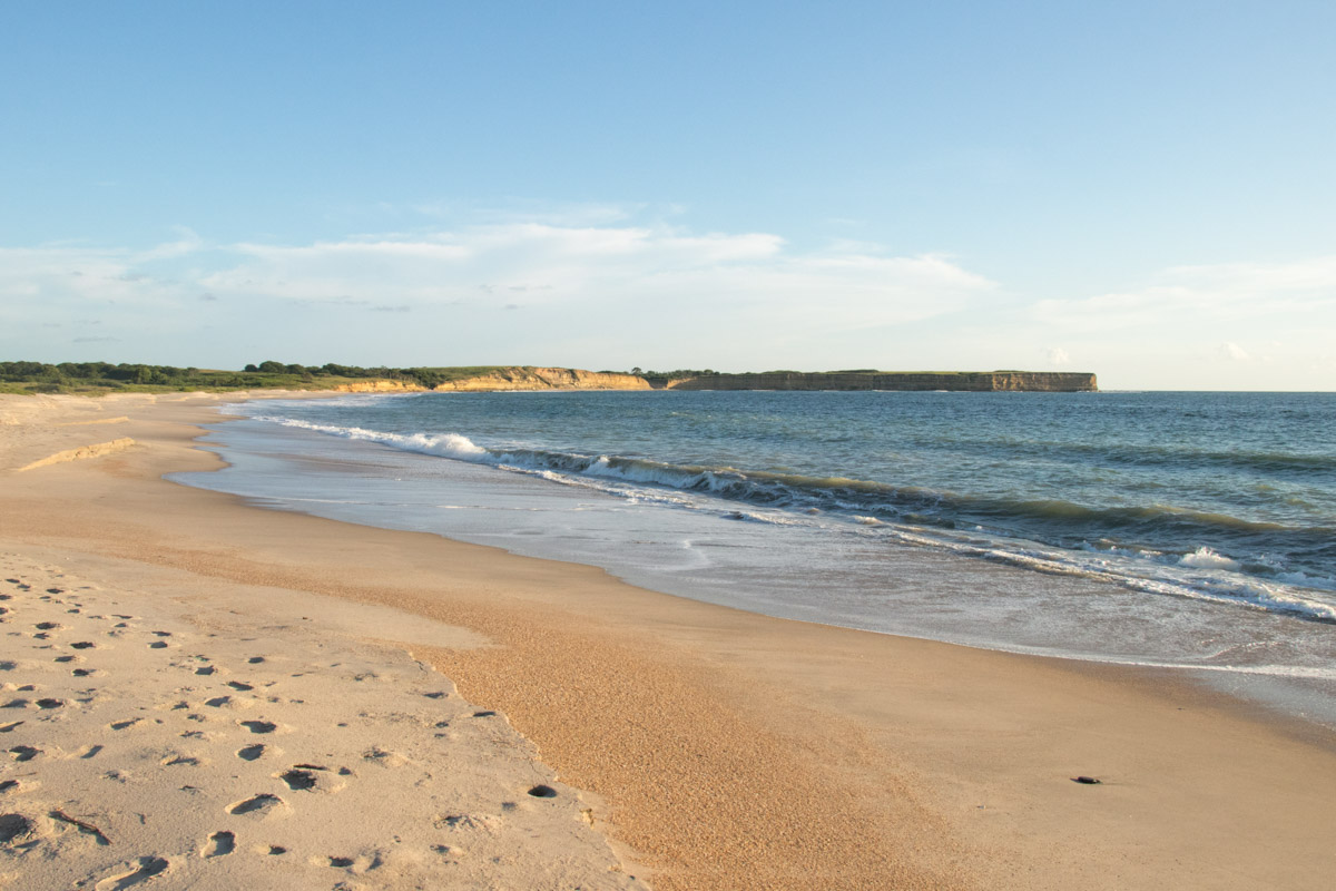 The secret sandy beaches of N'Zeto in the Zaire Province of Angola