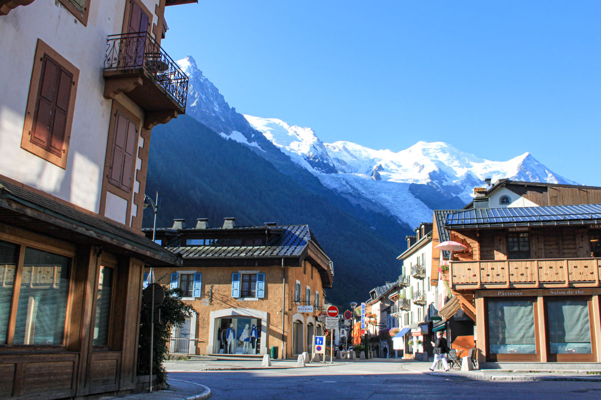 Beautiful Chamonix, France