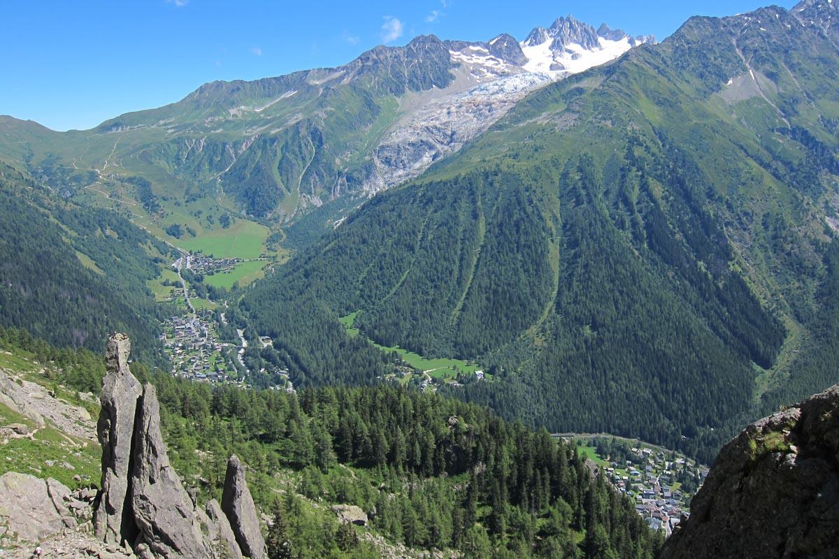 Aiguillette d'Argentière on the Tré le Champ to La Flégère Hike