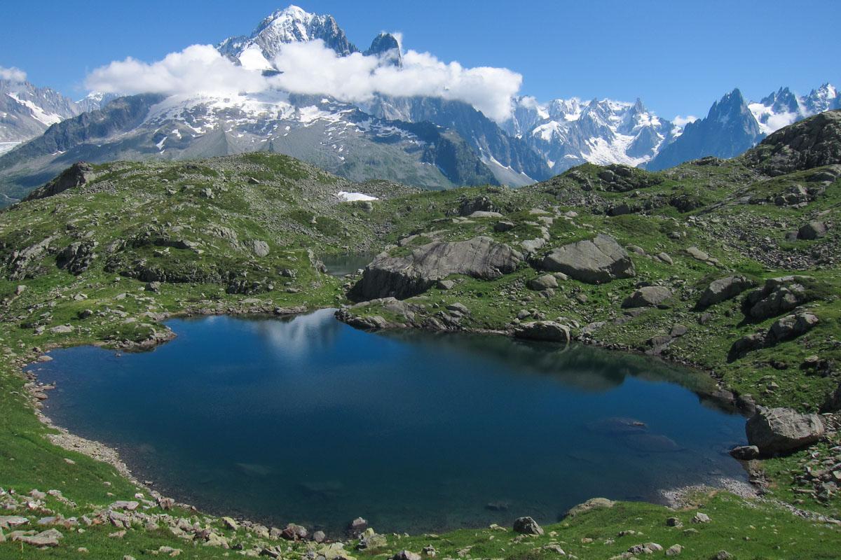 Lacs de Chéserys of the Aiguilles Rouges Nature Reserve