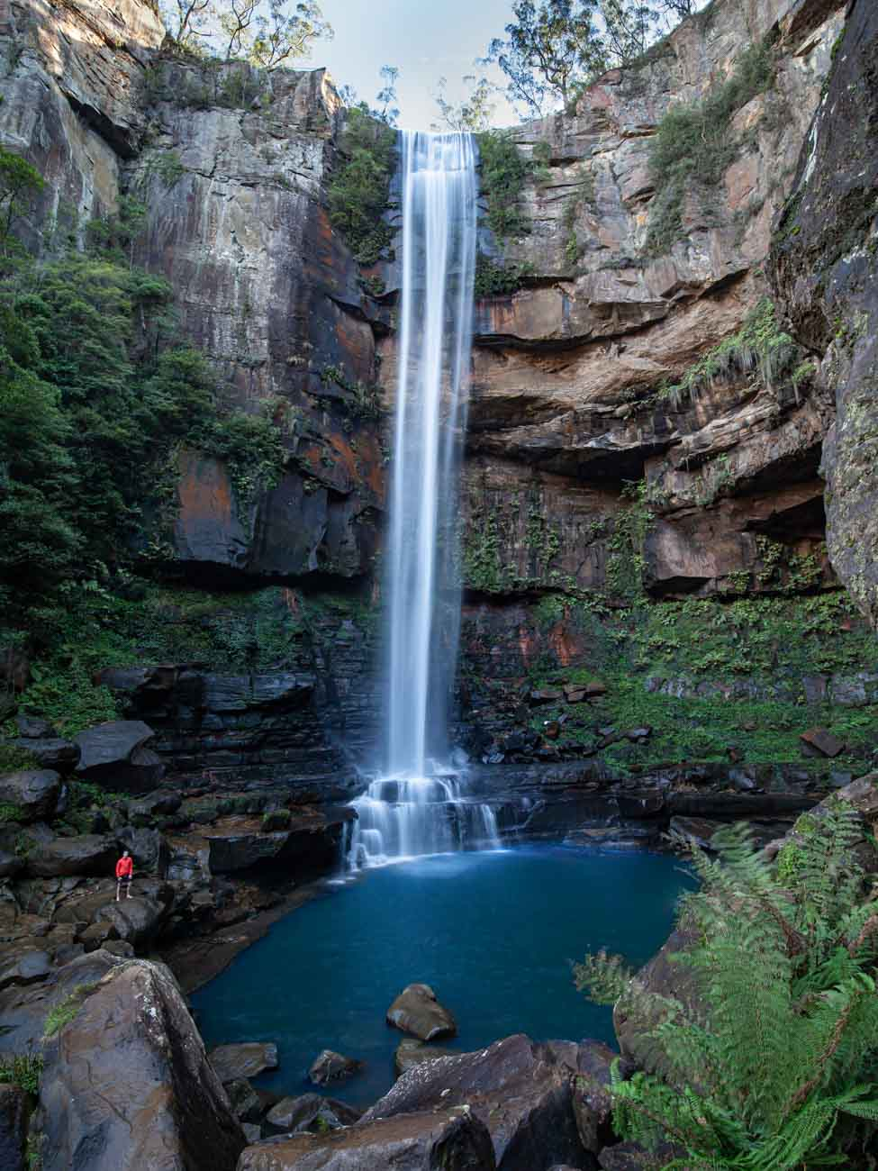 Belmore Falls Base Hike - Waterfalls of Morton National Park