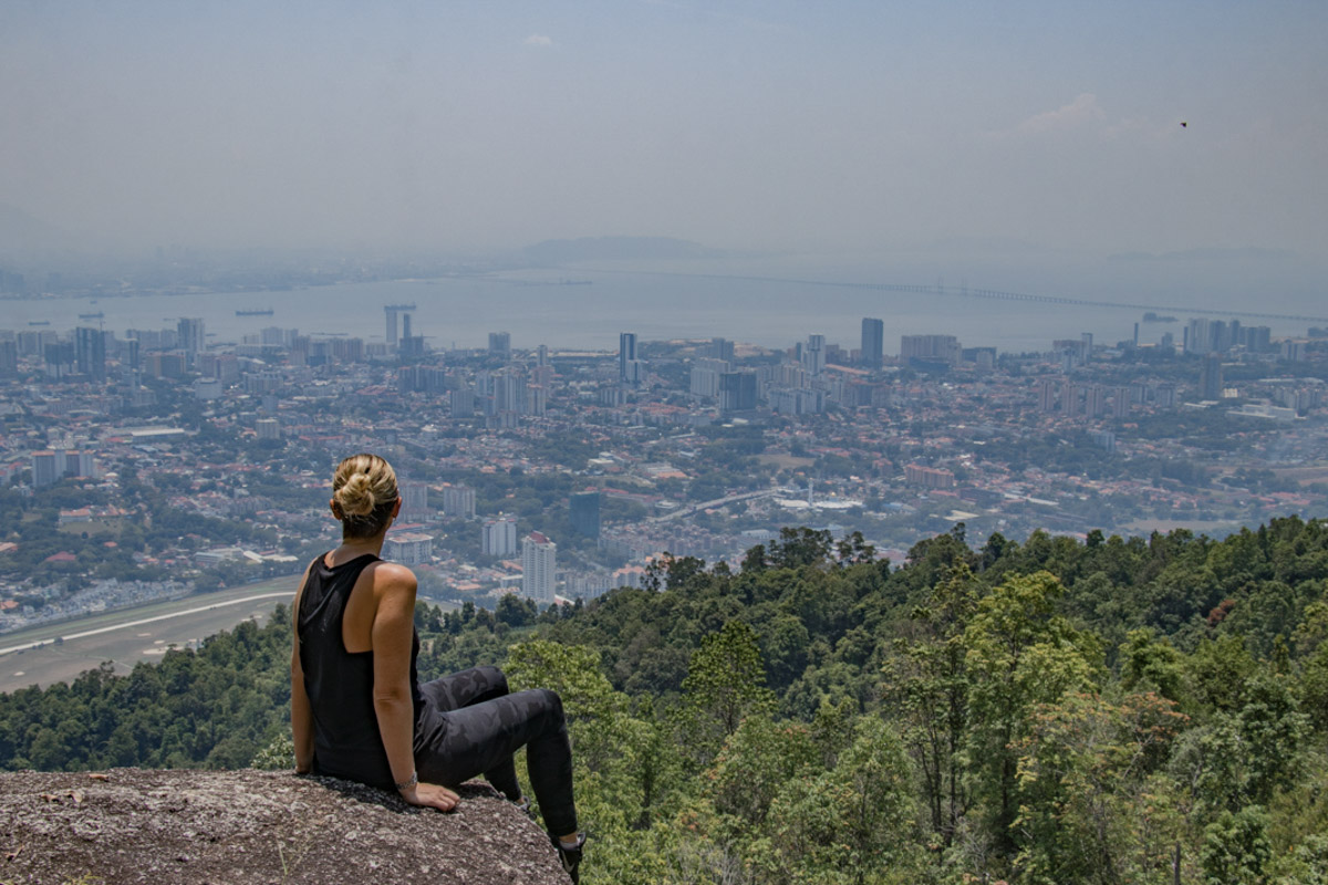 Secluded viewpoint from Penang Hill - Things to see and do in Penang
