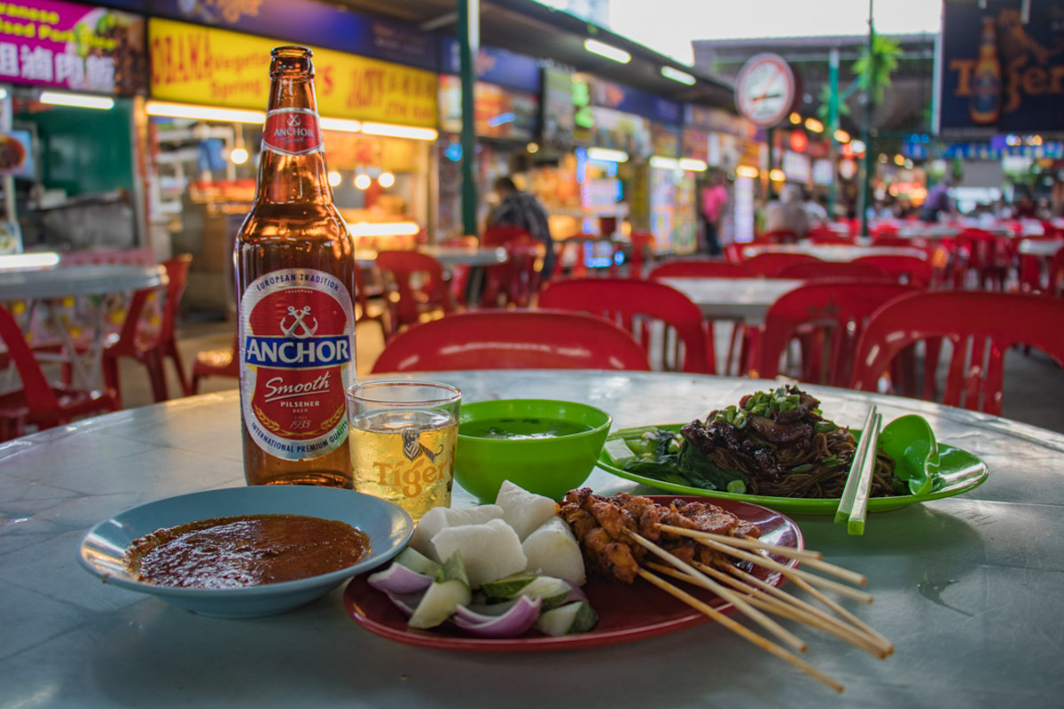 Hawker food in Penang - Places you must see in Malaysia