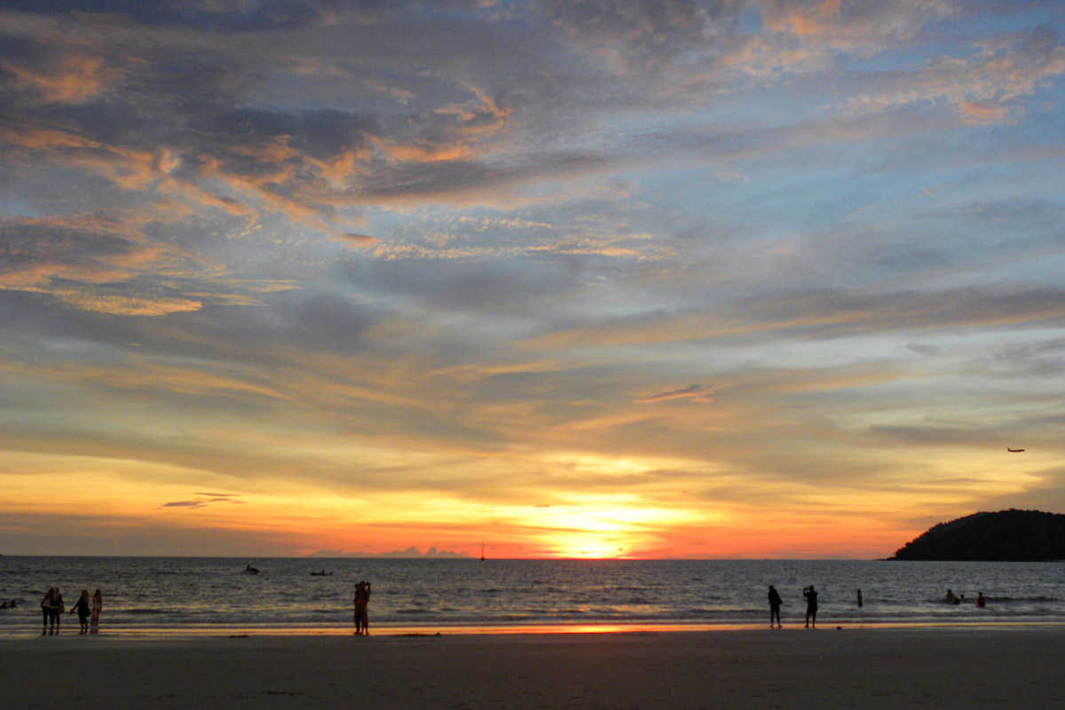 Sunset on Langkawi - Places you must see in Malaysia