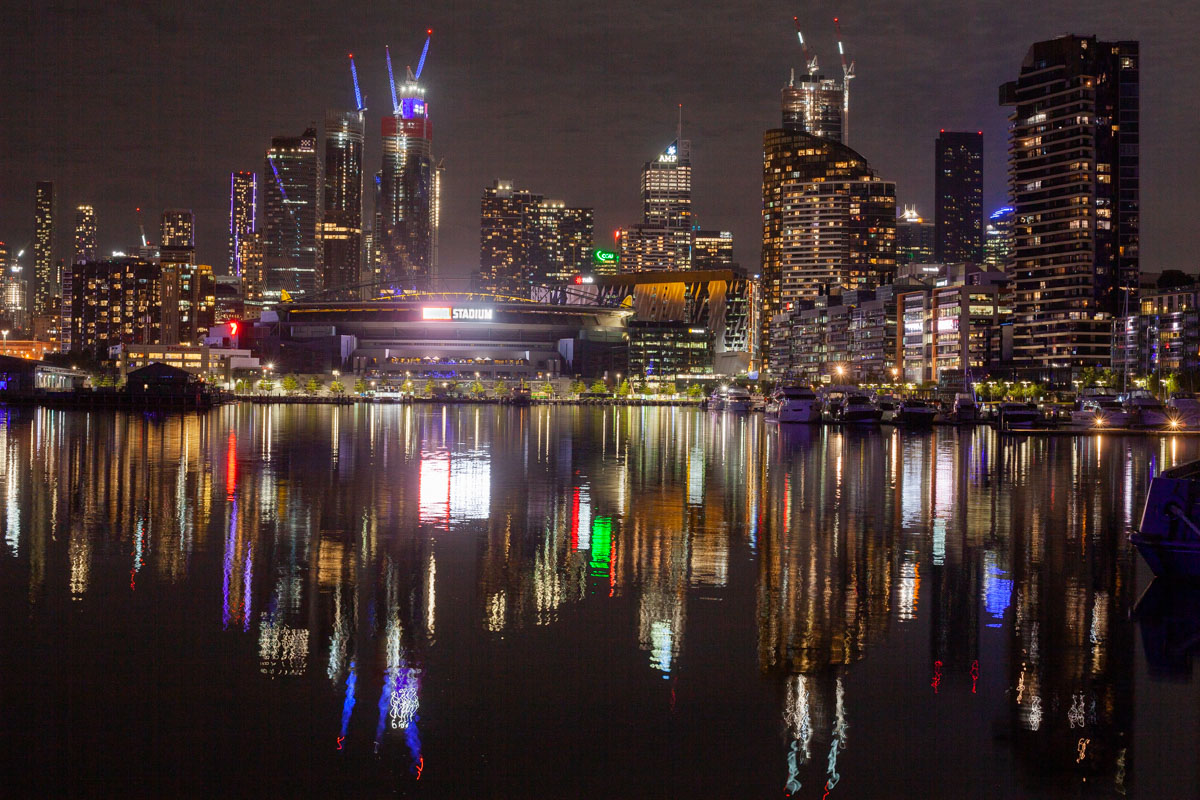 Docklands Night Photography
