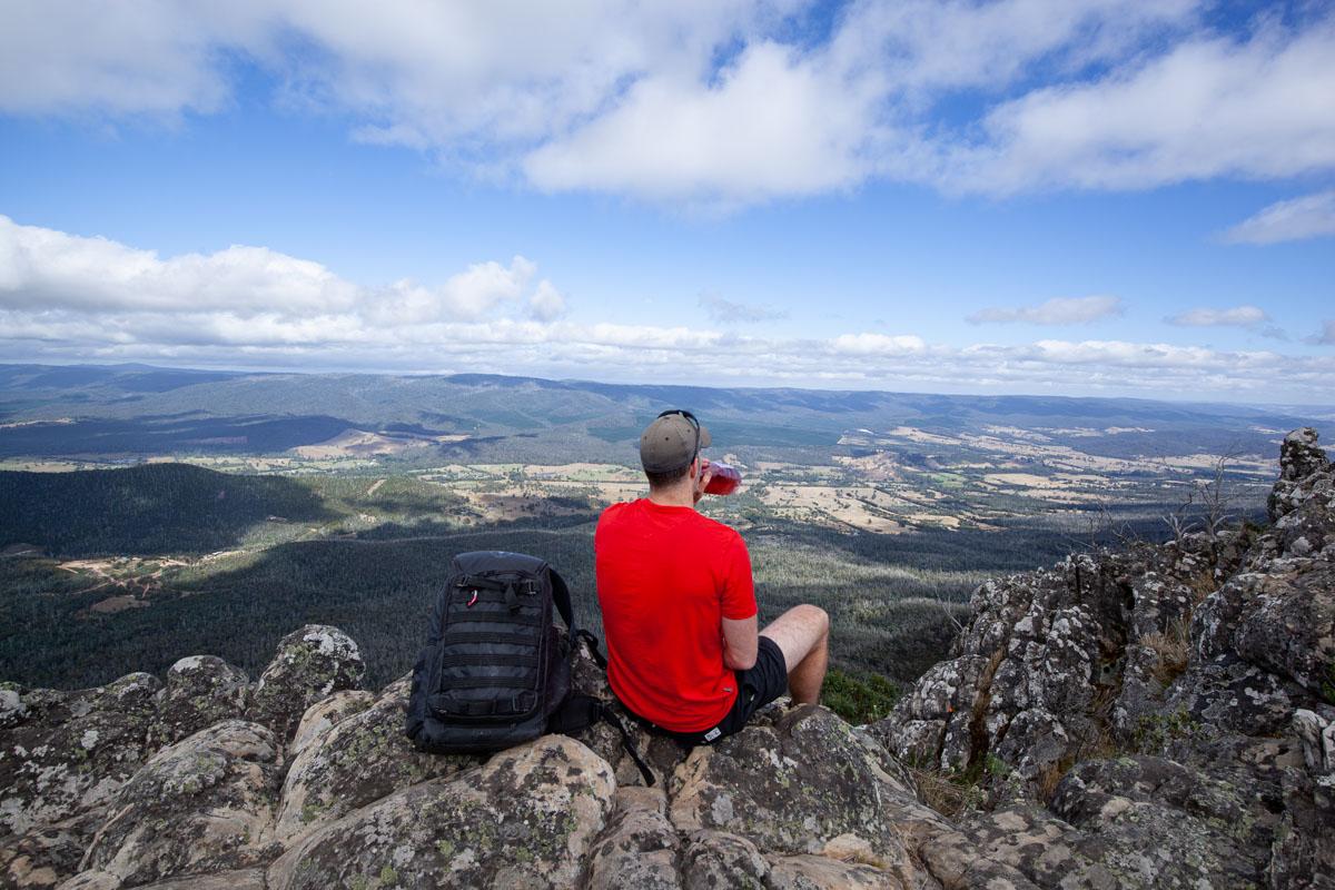 Atop Sugarloaf Peak