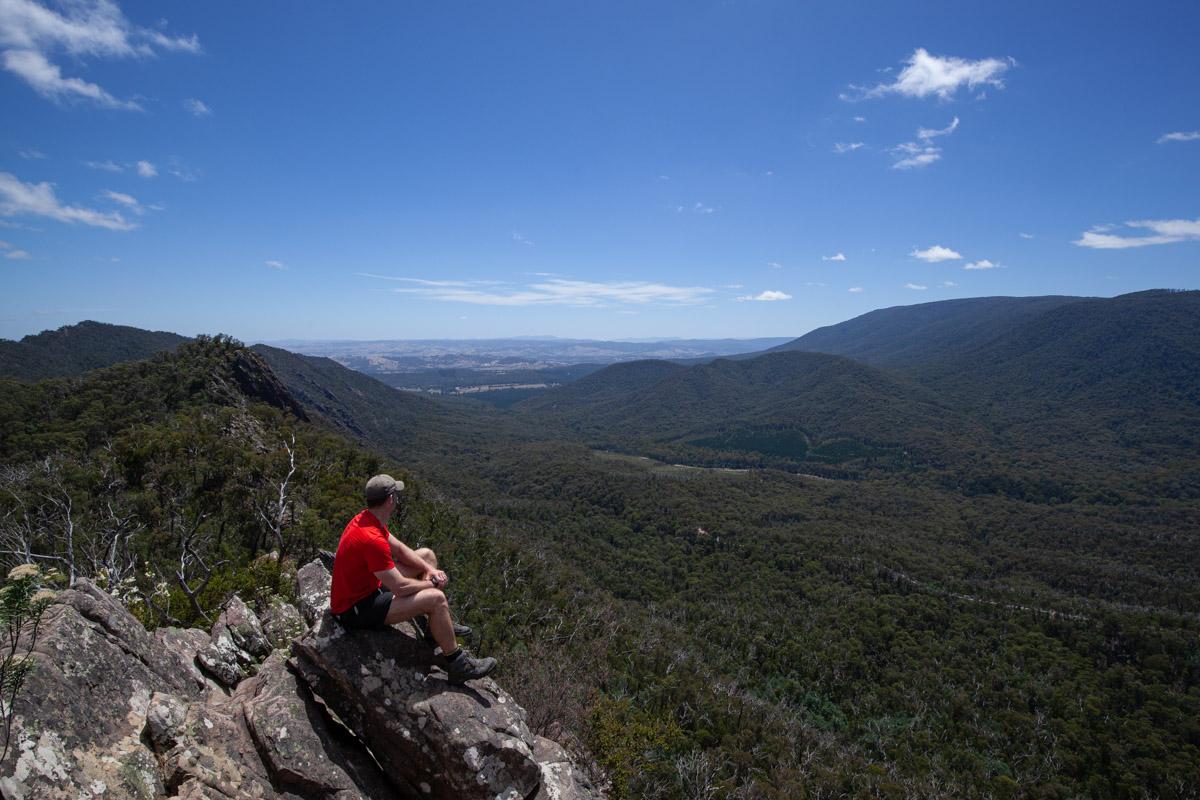 Cathedral Range - South Jawbone Views