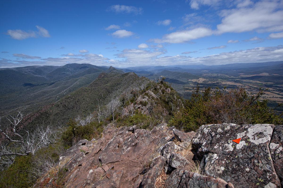 Cathedral Range - Ridgeline Circuit Ridge Track Views