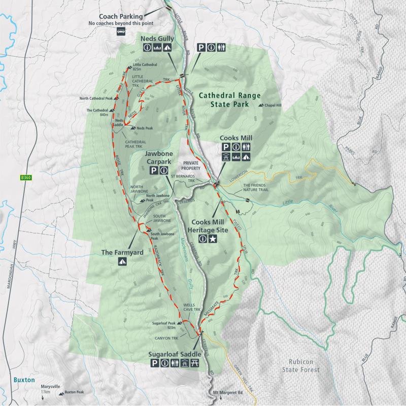 Cathedral Range - Ridgeline Circuit