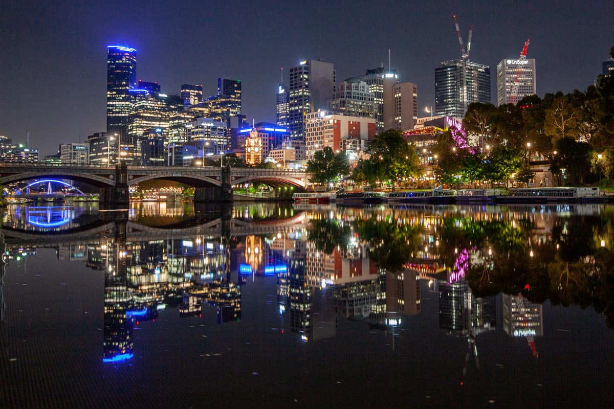 Best night photography spots in Melbourne