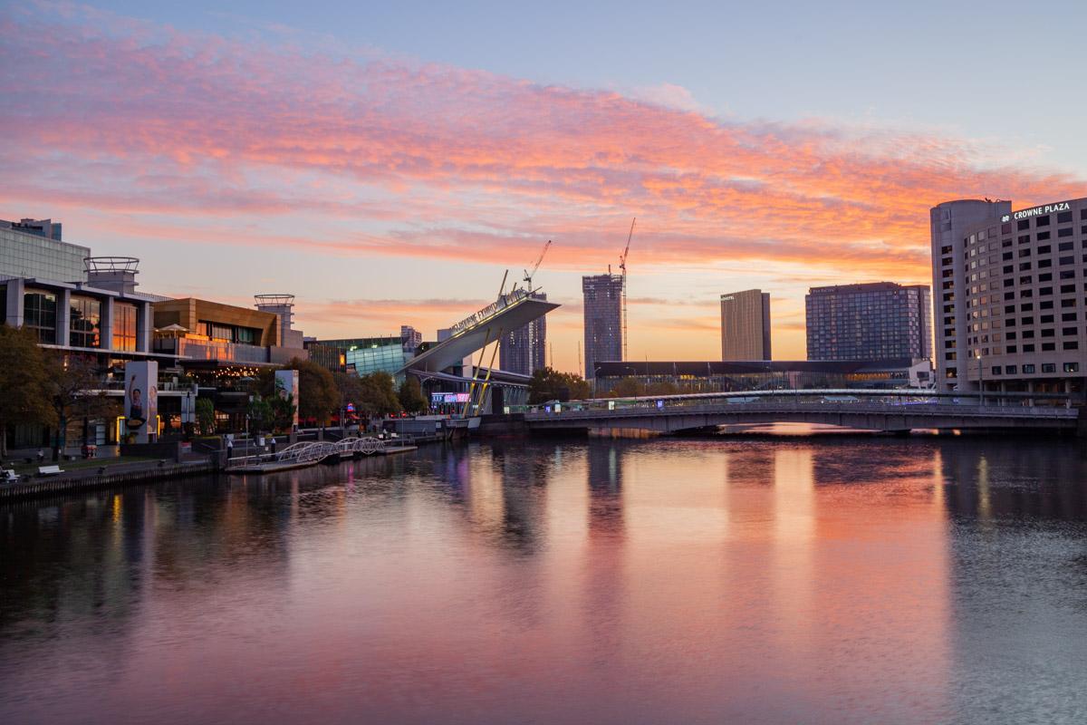 Kings Street Bridge - Best photography sunset spots in Melbourne