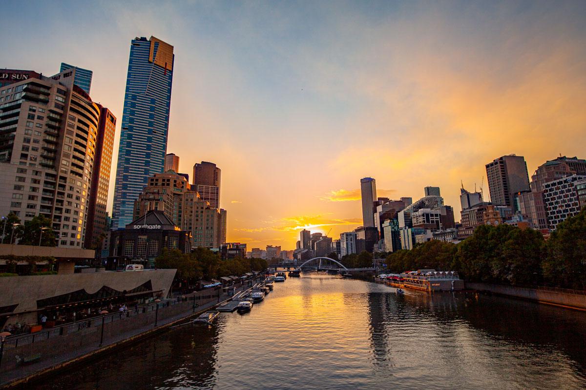 Princes Bridge - Best sunset photography spots in Melbourne